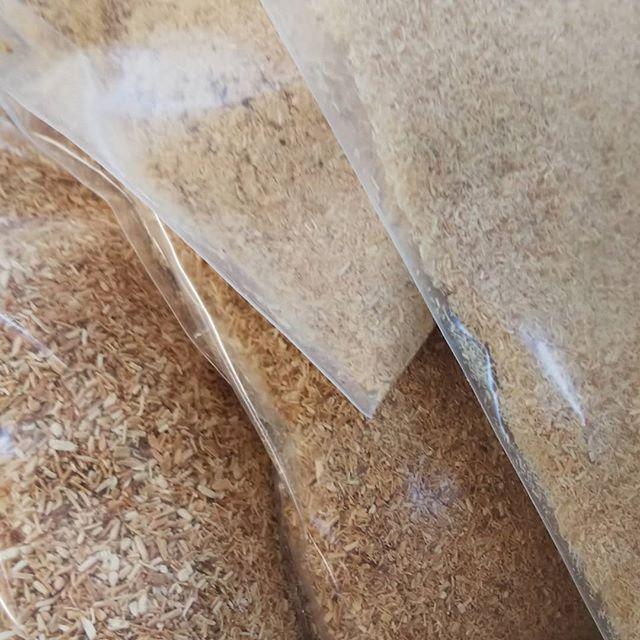 木粉いろいろ粗めの木粉のご要望がありいろいろ試作いろいろな用途で使ってもらえるとうれしいです(^^) #木粉 #国産 #バイオマス #バイオエコノミー #bioeconomy #tokushima #naka #nakawood