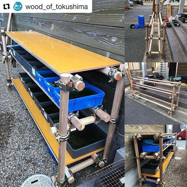 しっかり支柱 DIY WoodPole