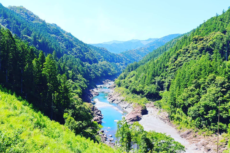 山の日🌲#那賀町 #山 #川 #mountain #river